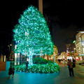 ミッドランドスクエア前のクリスマスイルミネーション 2020