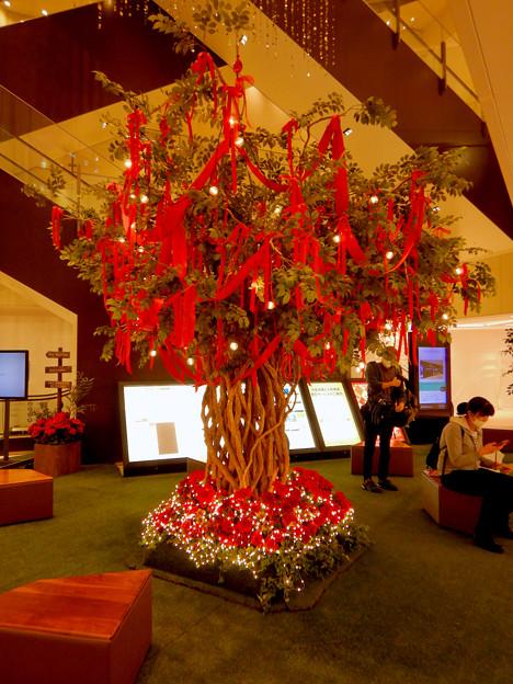 大名古屋ビルヂング 地下1階のクリスマスデコレーション