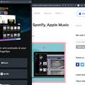 Photos: Opera 72に搭載された音楽サービス連携機能「プレイヤー」- 1