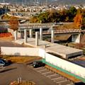 桃花台線の旧・桃花台東駅解体撤去工事(2020年11月18日) - 9