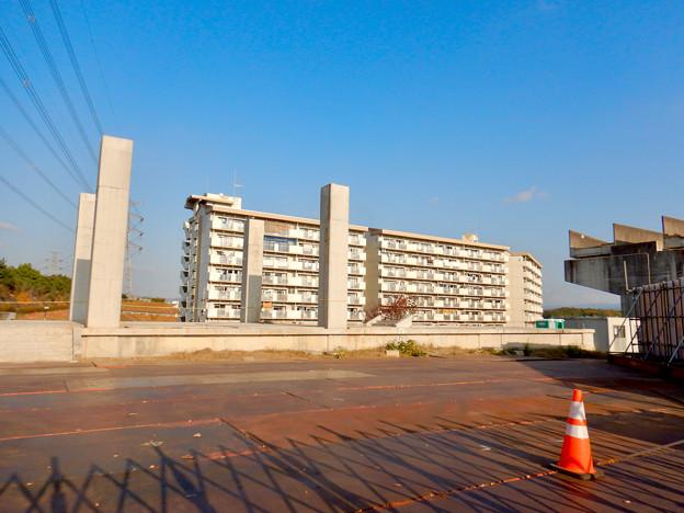 桃花台線の旧・桃花台東駅解体撤去工事(2020年11月18日) - 8
