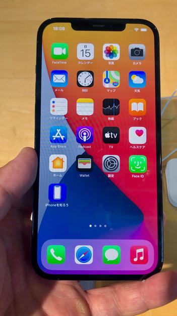iPhone 12 Pro Max - 1:ホーム画面