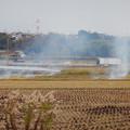 Photos: 田んぼで野焼き - 2
