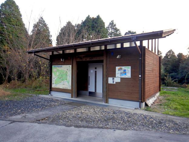 定光寺自然休養林 森林交流館 - 8:トイレ