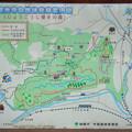定光寺自然休養林案内図