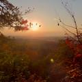 弥勒山の遊歩道 No.27~35の間にある眺めの良い場所 - 5:夕日と西高森山