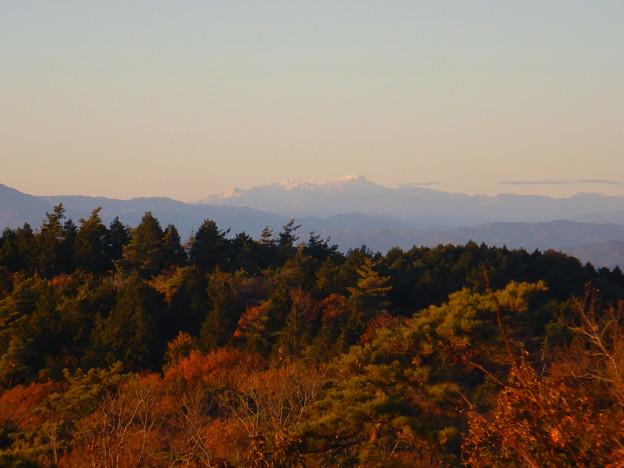 弥勒山山頂から見た郡上方面の山 - 3