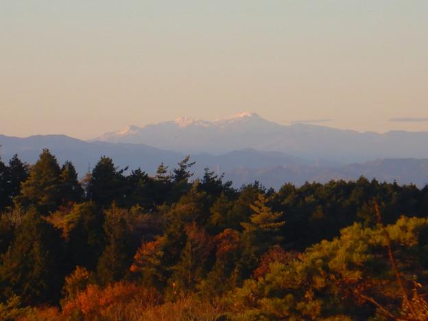 弥勒山山頂から見た郡上方面の山 - 4