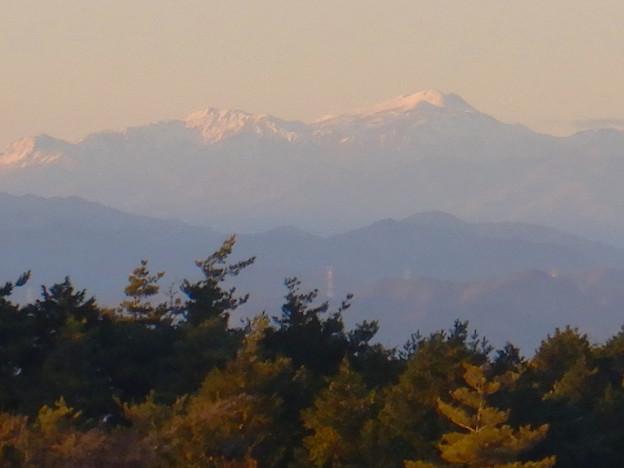 弥勒山山頂から見た郡上方面の山 - 5