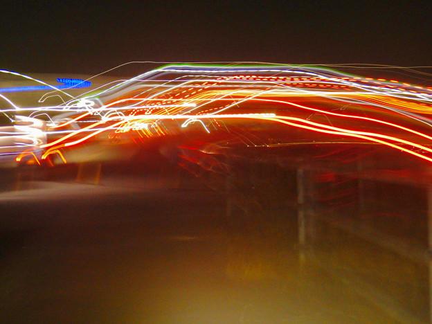 手ブレで作った光の軌跡 - 3