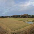 水抜きされた茨池(南側) - 4:パノラマ
