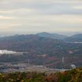 Photos: 弥勒山山頂から見た景色 - 2:尾張白山、本宮山、尾張富士、入鹿池