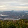 Photos: 弥勒山山頂から見た景色 - 3:尾張白山、本宮山、尾張富士、入鹿池