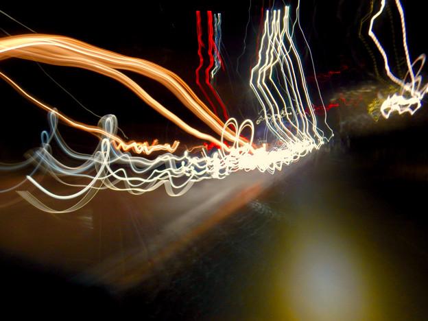 COOLPIX W300:比較明合成で撮影した光の軌跡 - 6