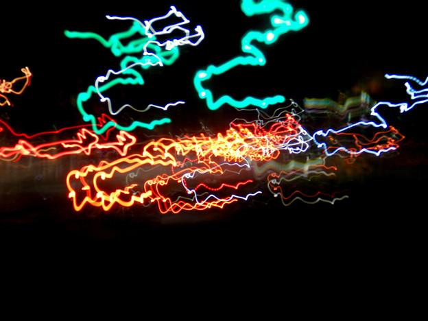 COOLPIX W300:比較明合成で撮影した光の軌跡 - 9