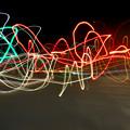 Photos: COOLPIX W300:比較明合成で撮影した光の軌跡 - 2