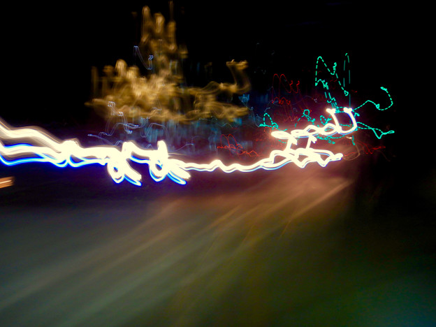 COOLPIX W300:比較明合成で撮影した光の軌跡 - 7