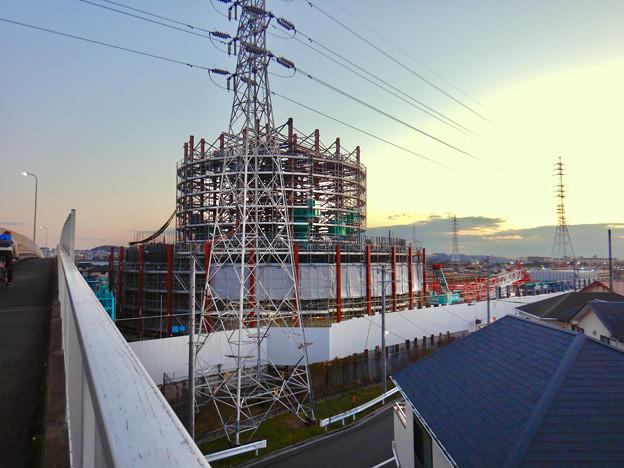 Photos: 建設中のリニア中央新幹線 神領非常口(2020年12月26日) - 1