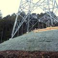 完成したと見られる、ふれあいの森のリニア中央線用の送電線鉄塔 - 5