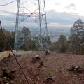 完成したと見られる、ふれあいの森のリニア中央線用の送電線鉄塔 - 10