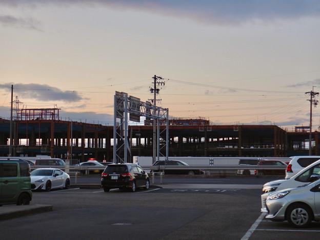 建設工事中の旧・ザ・モール春日井跡地の商業施設(2021年1月4日) - 3