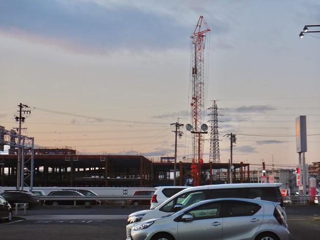 建設工事中の旧・ザ・モール春日井跡地の商業施設(2021年1月4日) - 4