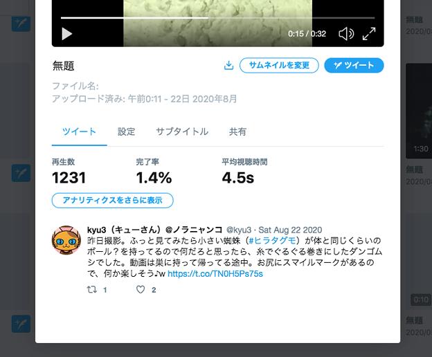 Twitter公式のメディア管理機能「Media Studio」- 6:動画の詳細