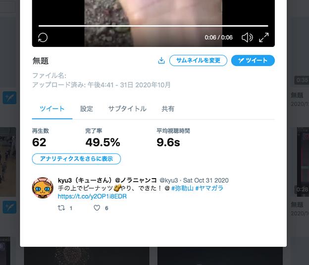 Twitter公式のメディア管理機能「Media Studio」- 5:動画の詳細データ