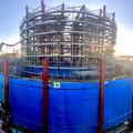 建設中のリニア中央新幹線 神領非常口(2021年2月2日) - 3:Photosynthパノラマ