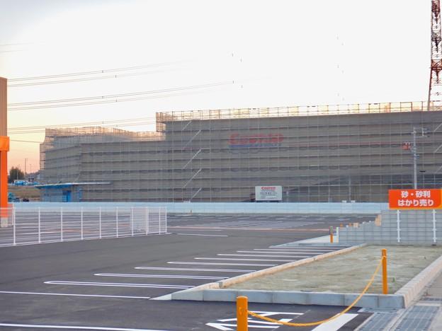 建設工事中のコストコ ホールセール守山倉庫店(2021年2月6日) - 1