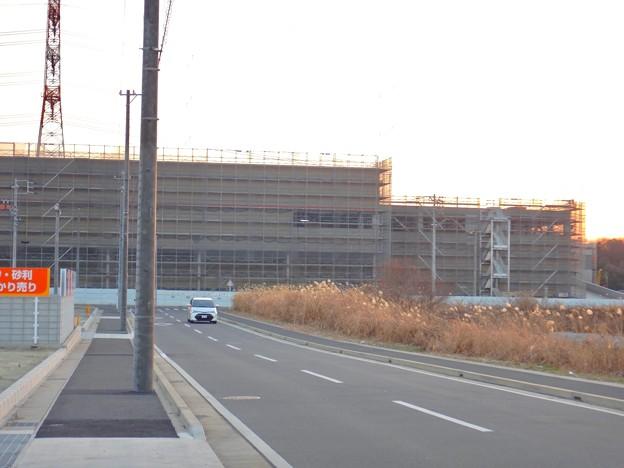 建設工事中のコストコ ホールセール守山倉庫店(2021年2月6日) - 2