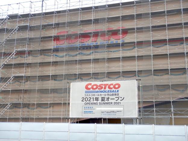 Photos: 建設工事中のコストコ ホールセール守山倉庫店(2021年2月6日) - 10