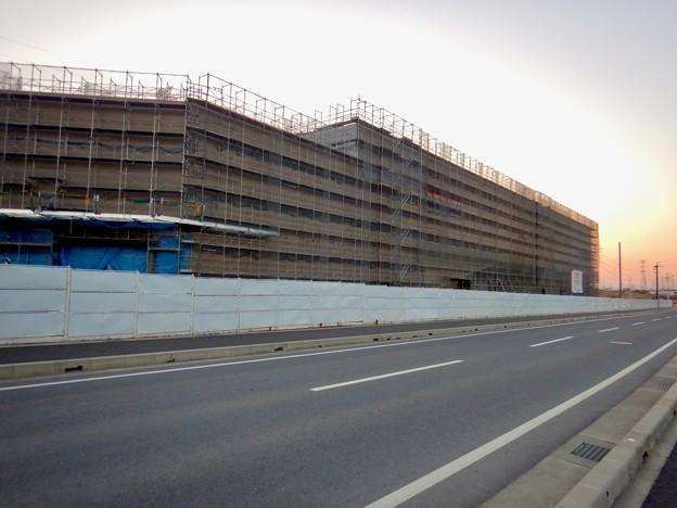Photos: 建設工事中のコストコ ホールセール守山倉庫店(2021年2月6日) - 12