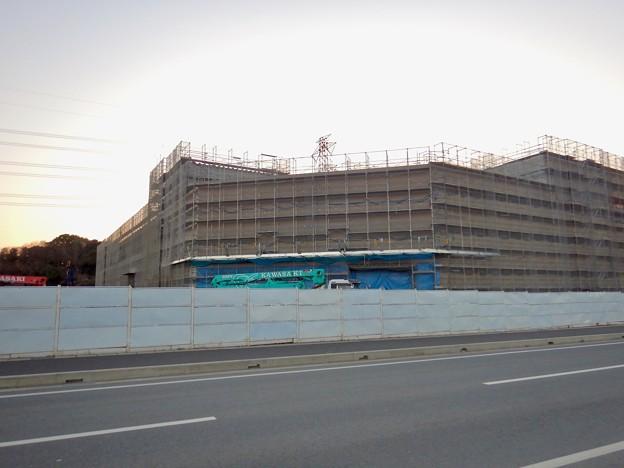 建設工事中のコストコ ホールセール守山倉庫店(2021年2月6日) - 13