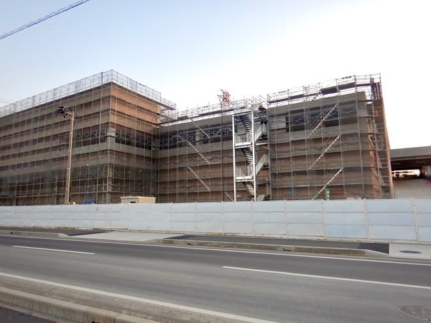 建設工事中のコストコ ホールセール守山倉庫店(2021年2月6日) - 14