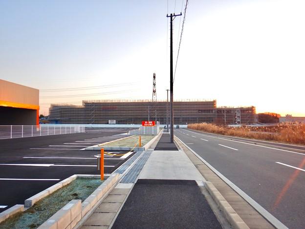 建設工事中のコストコ ホールセール守山倉庫店(2021年2月6日) - 3