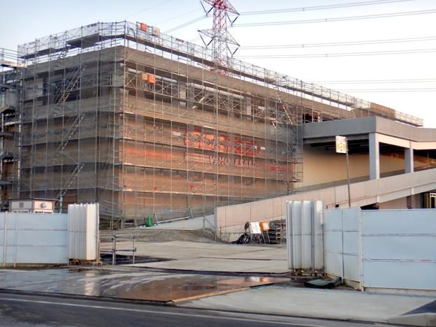 建設工事中のコストコ ホールセール守山倉庫店(2021年2月6日) - 17