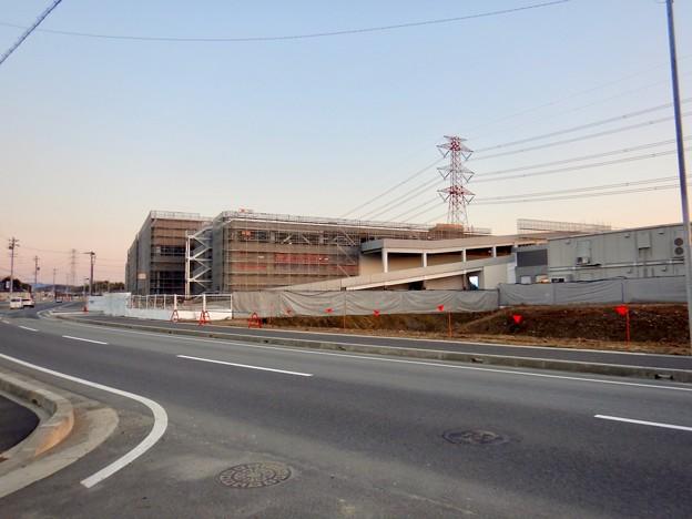 建設工事中のコストコ ホールセール守山倉庫店(2021年2月6日) - 18