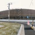 建設工事中のコストコ ホールセール守山倉庫店(2021年2月6日) - 20:パノラマ