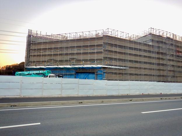 建設工事中のコストコ ホールセール守山倉庫店(2021年2月6日) - 11