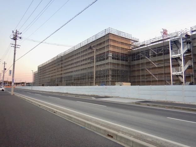 建設工事中のコストコ ホールセール守山倉庫店(2021年2月6日) - 15