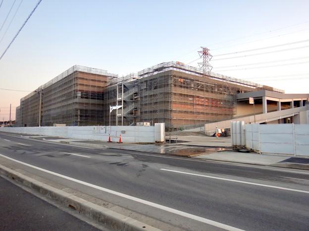 Photos: 建設工事中のコストコ ホールセール守山倉庫店(2021年2月6日) - 16