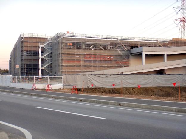建設工事中のコストコ ホールセール守山倉庫店(2021年2月6日) - 19