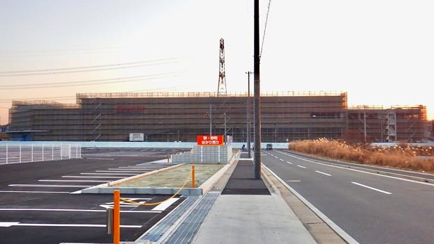 建設工事中のコストコ ホールセール守山倉庫店(2021年2月6日) - 22