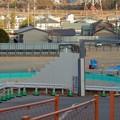 足場がなくなって更地の様にになっていたリニア坂下非常口工事現場(2021年2月9日)- 4