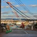 Photos: 足場がなくなって更地の様にになっていたリニア坂下非常口工事現場(2021年2月9日)- 1