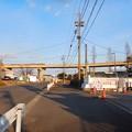 桃花台線の桃花台西・上末駅間高架撤去工事(2021年2月10日) - 4