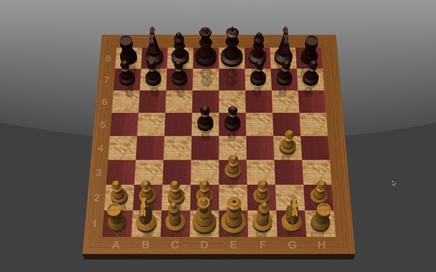 macOS BigSurに付属のチェスゲーム