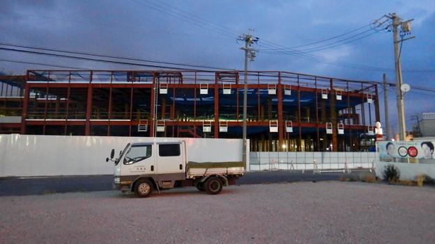建設工事中の旧・ザ・モール春日井跡地の商業施設(2021年2月13日) - 3