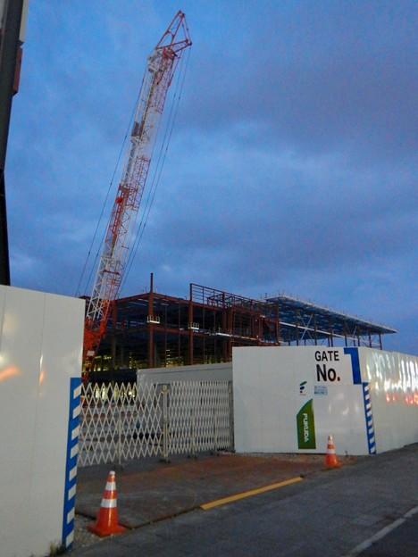建設工事中の旧・ザ・モール春日井跡地の商業施設(2021年2月13日) - 4